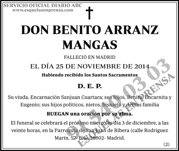 Benito Arranz Mangas